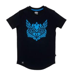 Czarna koszulka na rower dla dziecka